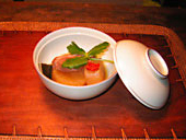 Simmered yellowtail with radish